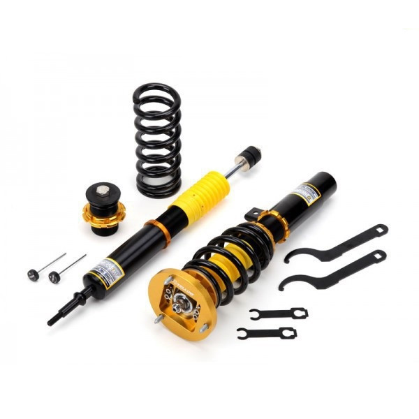 yellow speed dynamic pro sport fullt integrerade coilovers bmw e36 m3. Black Bedroom Furniture Sets. Home Design Ideas