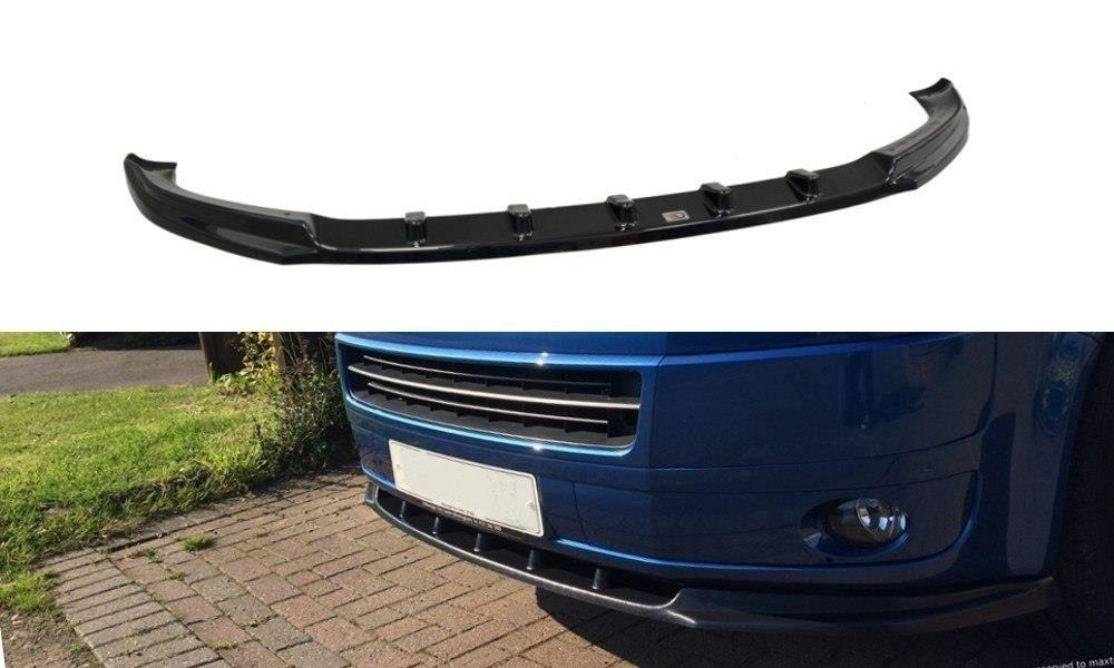 Glossy black Cupspoiler Front Audi A6 4G SC Styling