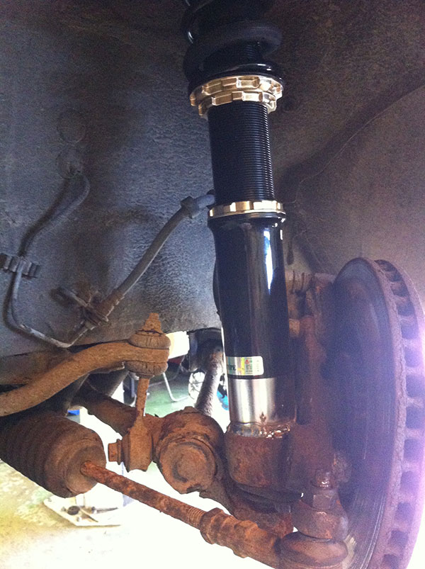 BC Coilovers Volvo 740 / 760 / 940 / 960 Fram
