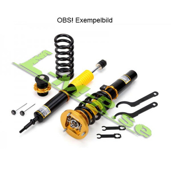 Yellow Speed Dynamic Pro Sport Coilovers BMW E34 87-96 55mm