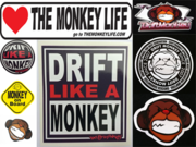Stickers kit 5 pcs, Driftmonkey