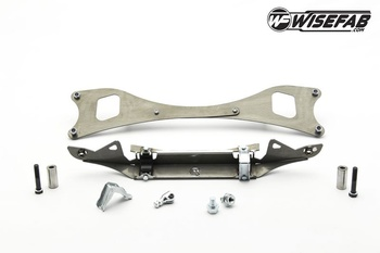 Wisefab - Nissan S13 / S14 / S15 Rack relocation kit / Styrväxelflytt-kit
