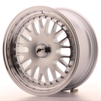 Japan Racing JR10 15x7 ET30 Oborrad machined silver