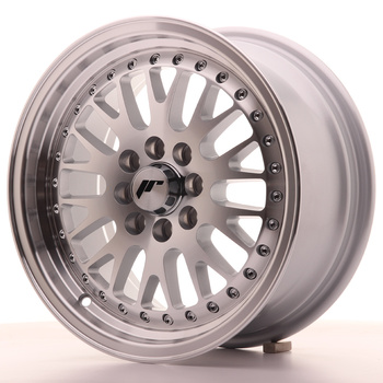 Japan Racing JR10 15x7 ET30 4x100/108 Machined Silver