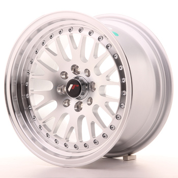 Japan Racing JR10 15x8 ET15 4x100/114 Machined Silver