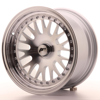 Japan Racing JR10 15x8 ET20 Oborrad machined silver