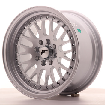 Japan Racing JR10 15x8 ET20 4x100/108 Full Silver