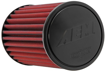 2.5'' (63mm) AEM Dry Flow luftfilter - 235mm