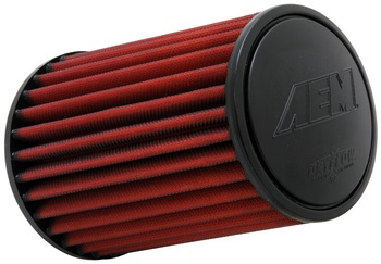 3.0'' (76mm) AEM Dry Flow luftfilter - 206mm