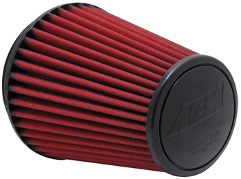 6.0'' (152mm) AEM Dry Flow luftfilter - 206mm