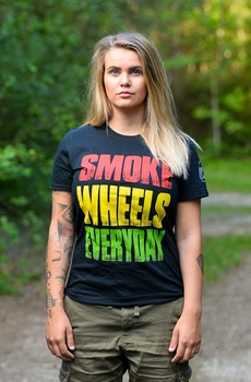 Smoke Wheels Everyday T-shirt
