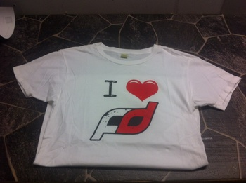 Formula Drift Heart T-shirt - Vit