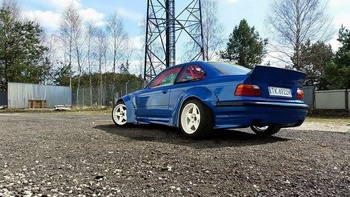 BMW E36 RB-look / RocketBunny Vinge