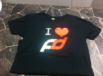 Formula Drift Heart T-shirt - Svart